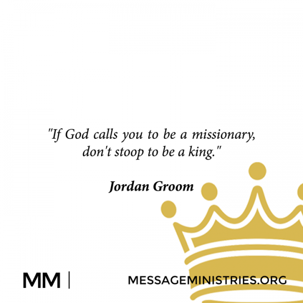 If God Calls You To Be A Missionary